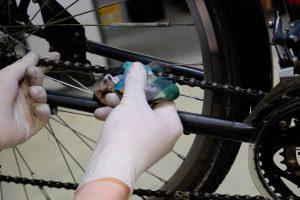 Fahrradkette säubern