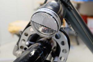 Beim Radfahren im Winter ist gutes Licht wichtig