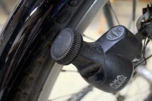 Fahrraddynamo für gutes Licht im Winter